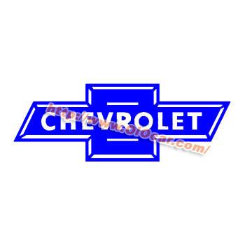 CHEVROLET B 雪佛兰汽车标志贴纸