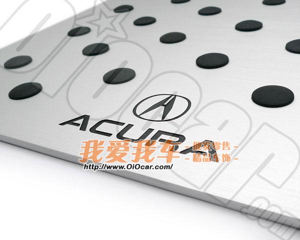 讴歌 阿库拉车系专用 ACURA汽车LOGO标志车内地毯脚垫铝合金防滑高清图片