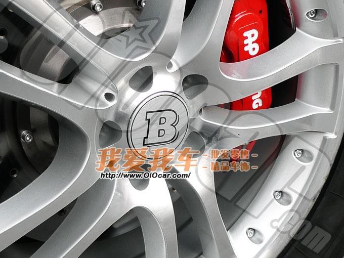 Benz奔驰御用改装品牌 BRABUS标志轮毂中心装饰盖 Benz BRABUS